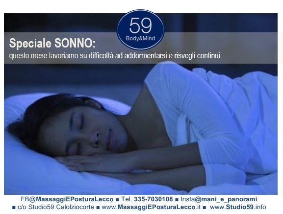 Massaggi e Trattamento per aiutare il Sonno