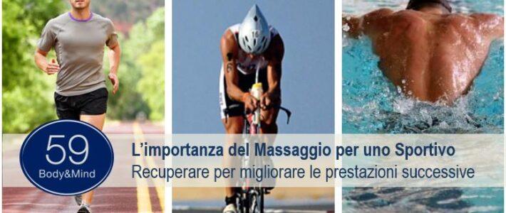 Importanza del Massaggio per uno Sportivo