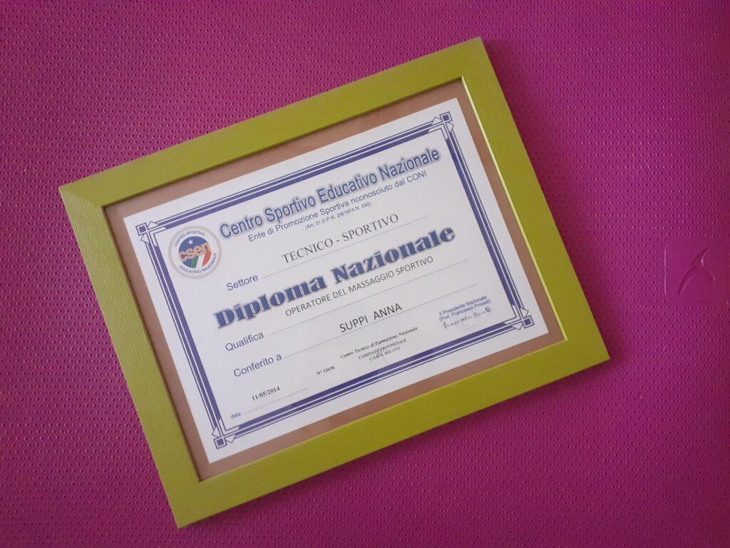 Diploma nazionale Tecnico Sportivo