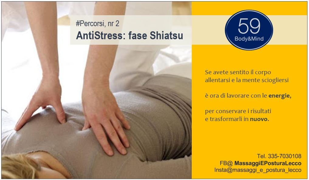 Percorsi: AntiStress Fase 2/3